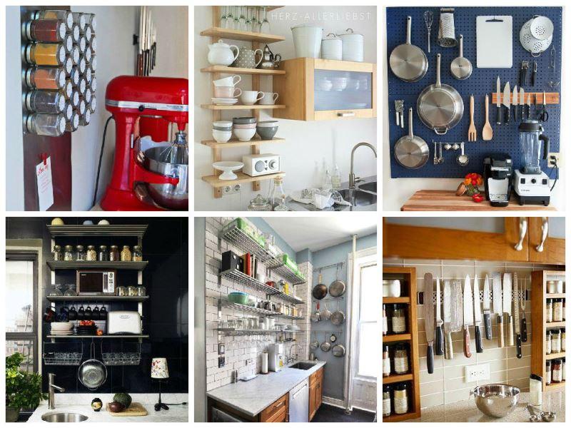 para organizar cozinhas pequenas , organização em pequenas cozinhas