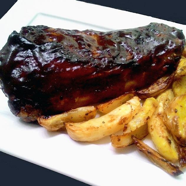 CostelinhaGlaceadaNoMolhoBarbecue_CozinhandoPara2ou1