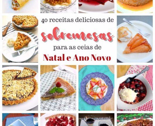 40 sobremesas deliciosas para as ceias de Natal e Ano Novo