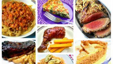 50 receitas práticas para um delicioso almoço de domingo