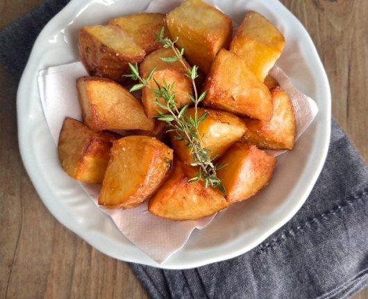 Batatas coradas da Vó Ninha