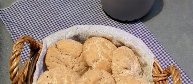 Biscoitinhos de gengibre e mel