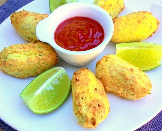 Bolinhos de bacalhau (fritos ou na air fryer)