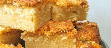 Bombocado (bolo cremoso de coco)