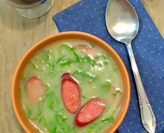 Caldo verde low carb (sem batatas)