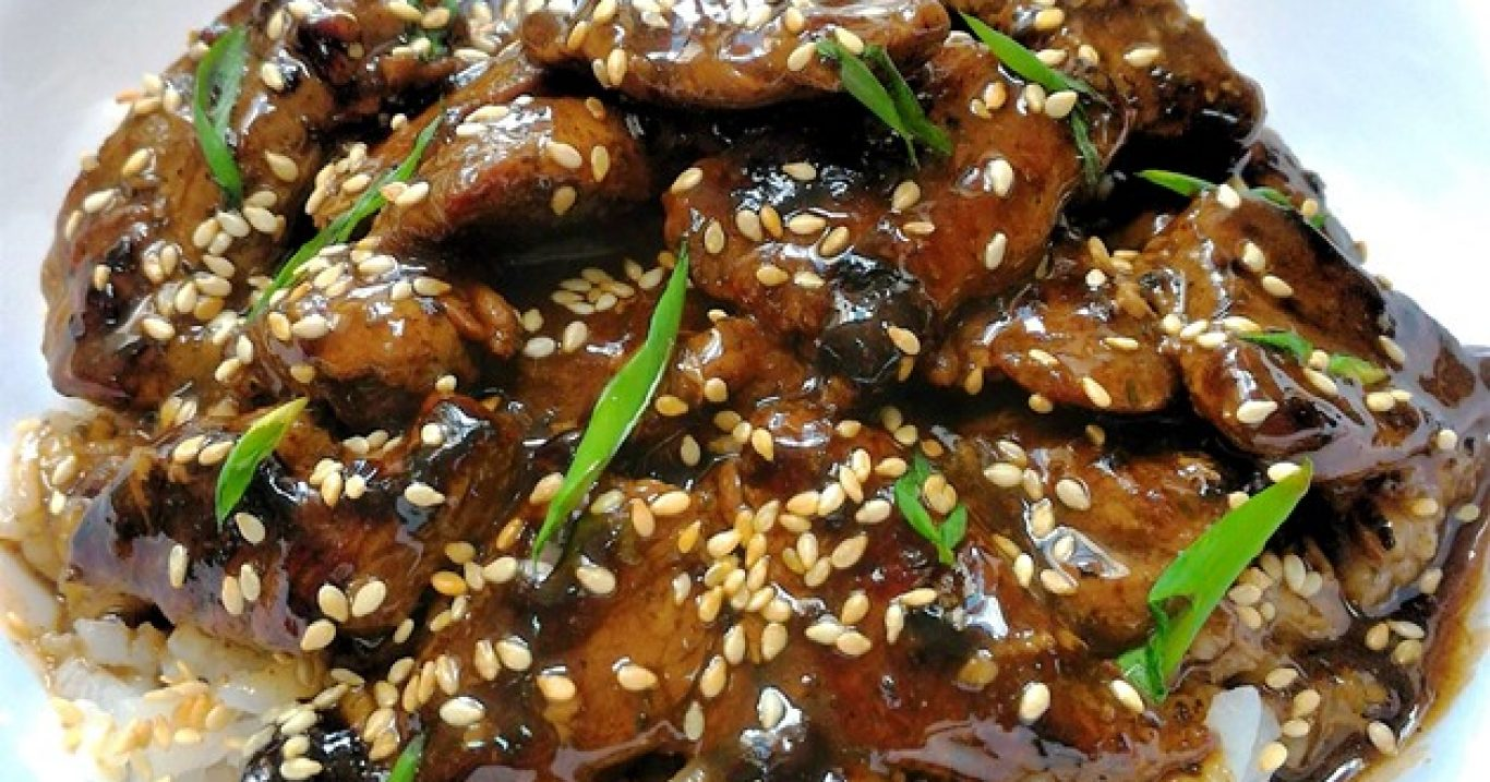 "Carne à oriental (e a técnica ""velveting"")"