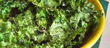 Chips de couve (kale chips)