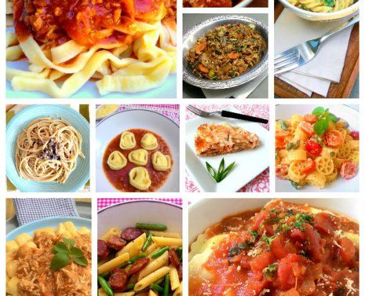 25 receitas de massas e molhos deliciosos e fáceis