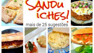Festival de Sanduíches (mais de 25 sugestões)