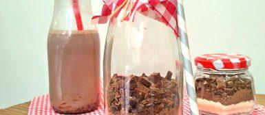 Garrafinha de chocolate quente