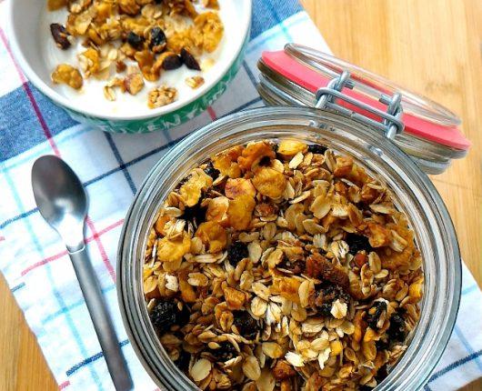 Como fazer granola caseira