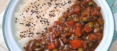 Karê de legumes (curry japonês)