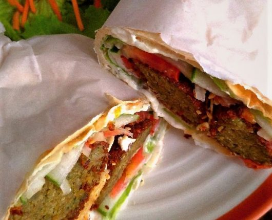 Kebab de faláfel