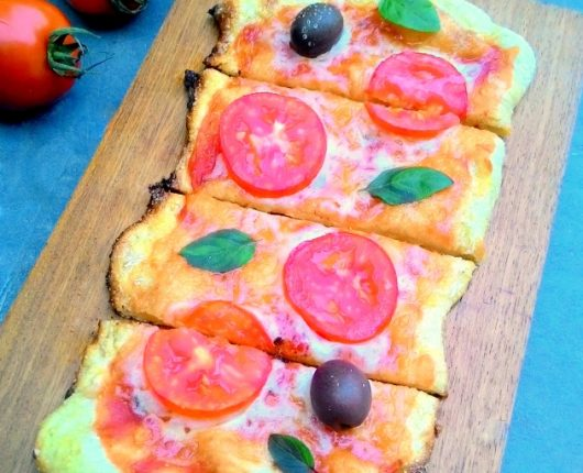 Massa de pizza tipo de pizzaria (fermentação longa, sem sova)
