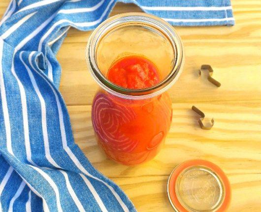 Molho de tomate especial da Tia Lu (enriquecido com vegetais)