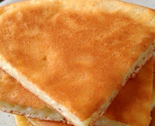 """""""Pão de queijo"""" de frigideira"""