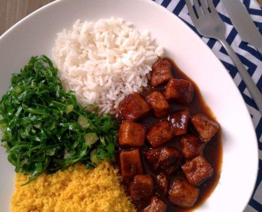 Picadinho de tofu