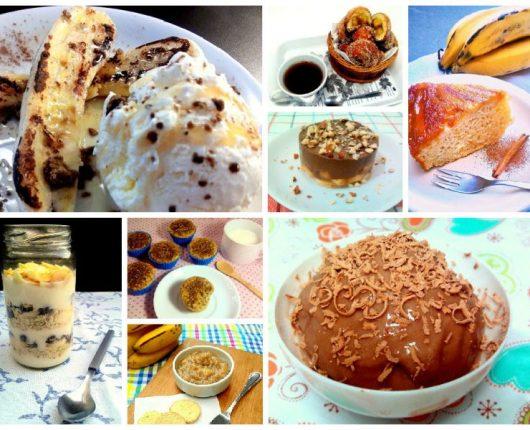 15 receitas fáceis e gostosas com banana