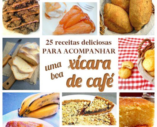 25 receitas deliciosas para acompanhar uma boa xícara de café
