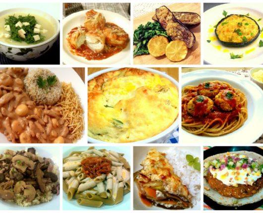 75 receitas vegetarianas para você nem sentir falta de carne