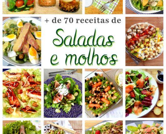 Mais de 70 sugestões de saladas e molhos saborosos para o verão