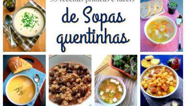 33 receitas práticas e fáceis de sopas quentinhas para o inverno