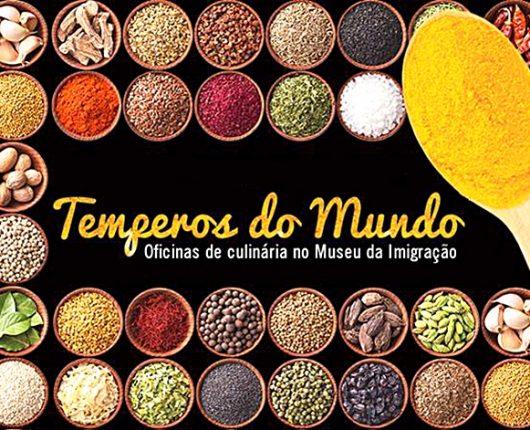 Oficinas gratuitas de culinária internacional no Museu da Imigração