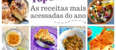 Top 20: as receitas mais acessadas de 2018