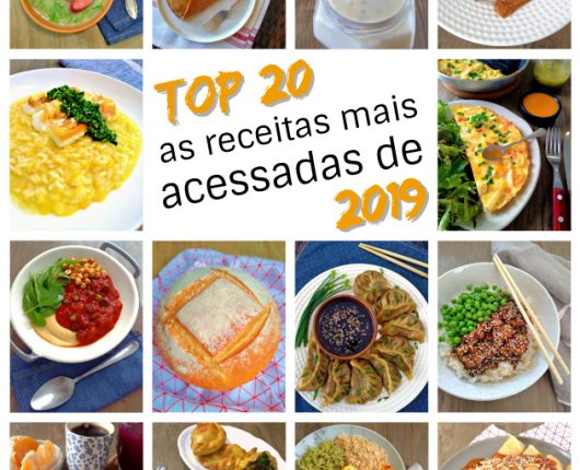 Top 20: as receitas mais acessadas de 2019