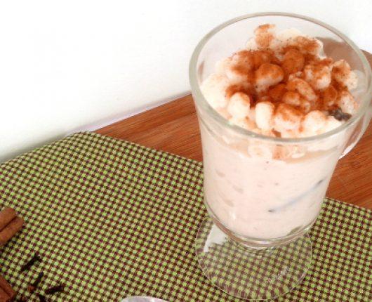 Canjica ou mungunzá doce (calorias reduzidas)
