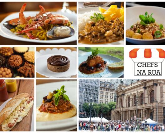 SP460 com Chefs na Rua: pratos de restaurantes a preços mais acessíveis