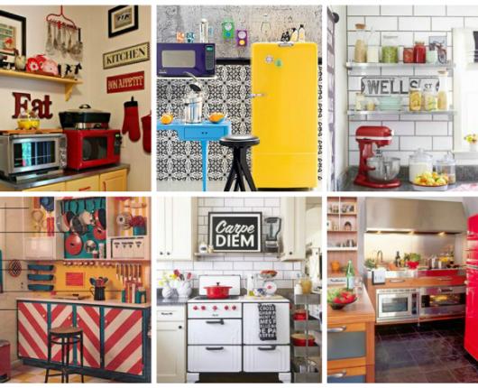 As cozinhas dos sonhos e os objetos de desejo de cozinheira