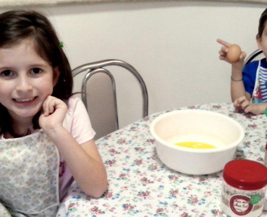 Férias: leve as crianças para a cozinha!