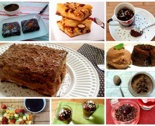 15 receitas deliciosas com chocolate