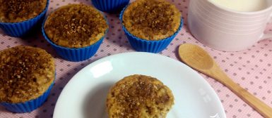 Bolinhos de banana com aveia (cupcake/ muffin)