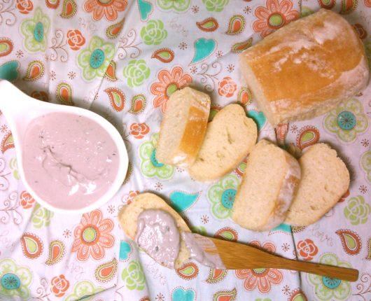 Patê cremoso de azeitonas pretas (calorias reduzidas)