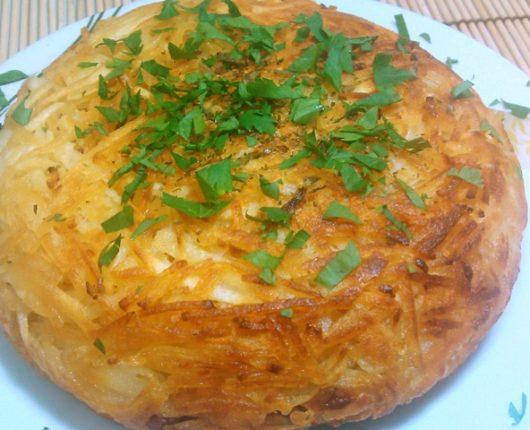 Batata rösti (batata suíça recheada)