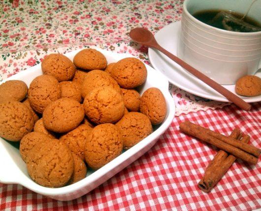 Biscoitinhos de canela (petit fours)