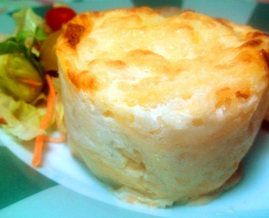 Tortinhas de batatas gratinadas (Pommes au gratin)