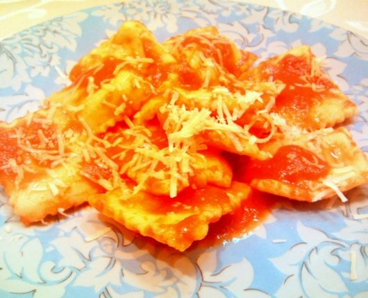 Tortéi de batata doce da tia Geni (Tortelli di patate dolci)