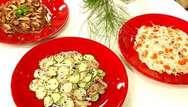 Receitas rápidas e saudáveis com macarrão de arroz no Você Bonita