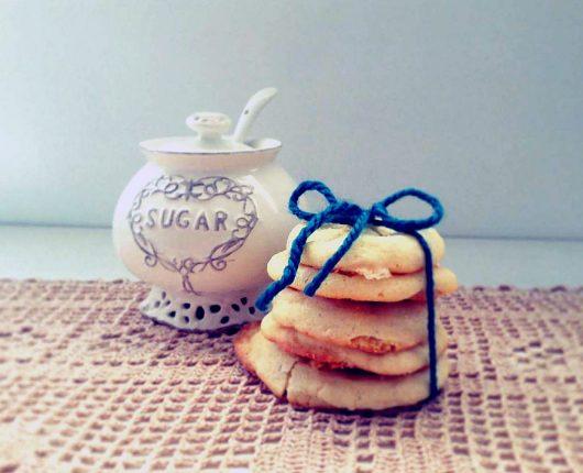 Lemon Sugar Cookies  (Cookies de limão siciliano)