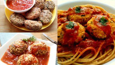 Festival de almôndegas nutritivas e com calorias reduzidas