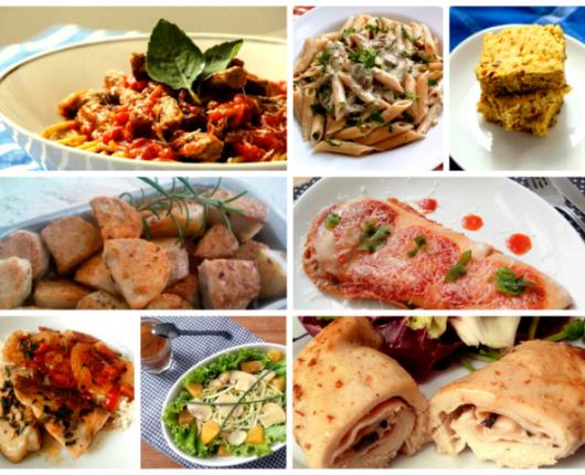 90 receitas diferentes e fáceis para o almoço do dia a dia