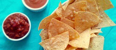 Nachos mexicanos (tortilhas crocantes de milho — tipo Doritos)
