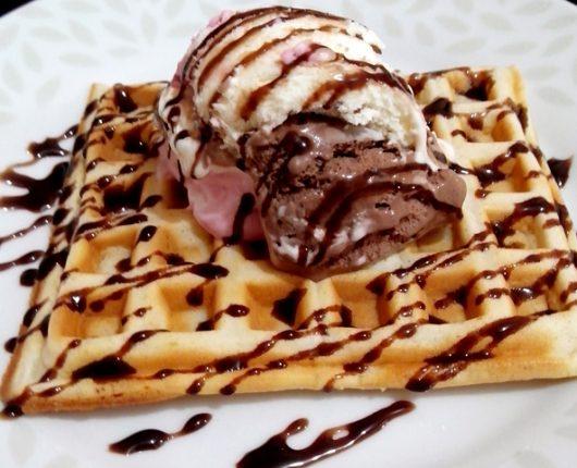 Waffles doces e salgados super práticos (no liquidificador)
