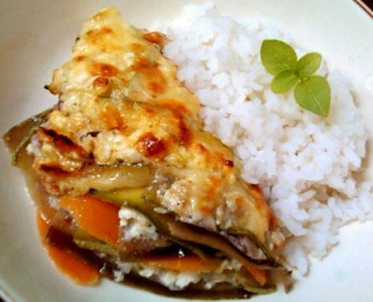 Tian light de legumes aos 4 queijos (legumes gratinados com queijos – calorias reduzidas)