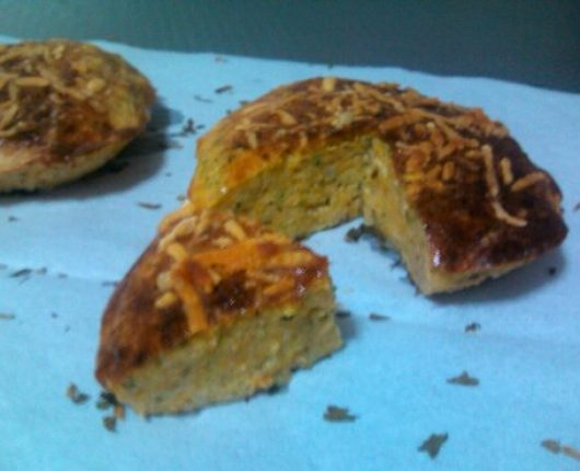 Muffin de legumes (bolinho assado de legumes)