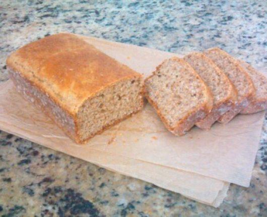 Pão de forma integral (no liquidificador)