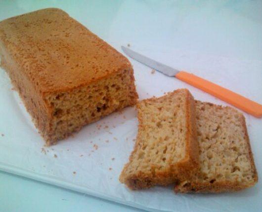 Pão de forma de iogurte (no liquidificador)